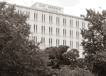 Old Photo of San Antonio College
