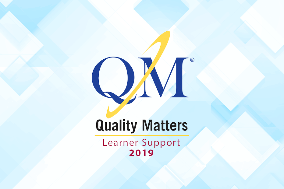Quality Matters 2019