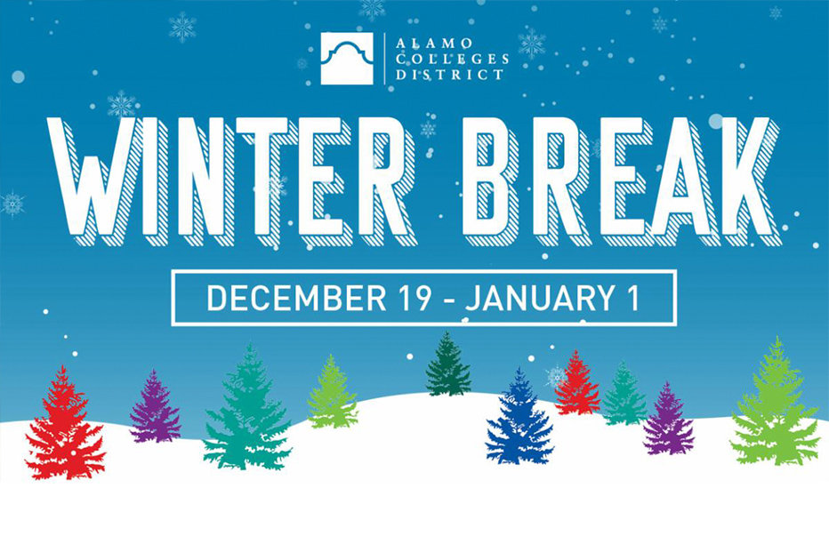 Winter Break December 19 - January 1