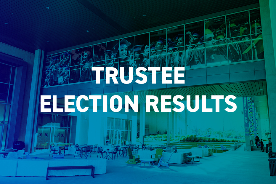 TEXT: Trustee Election Results