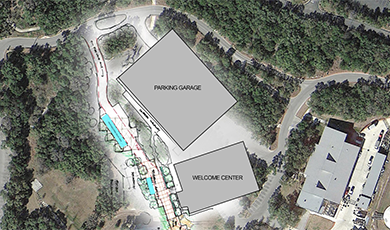Welcome Center Plan