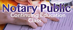 Notary Public Class
