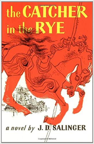 Book Cover - the Catcher in the Rye