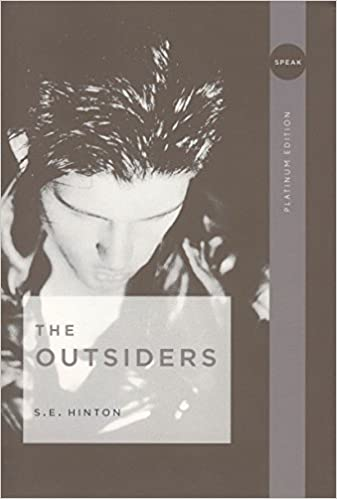 Book Cover - the Outsiders