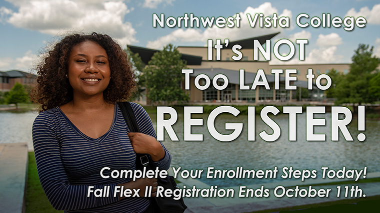 It's not too late to register for Fall Flex II